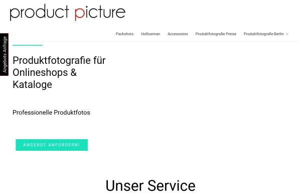 Vorschau von www.productpicture.de, Productpicture