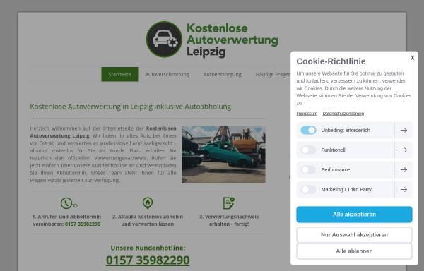Vorschau von www.autoverwertung-leipzig.info, Autoverwertung Leipzig