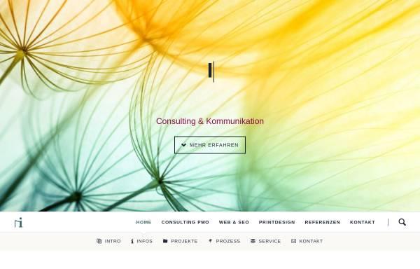 Vorschau von filgis.net, Informationsdesign Filgis