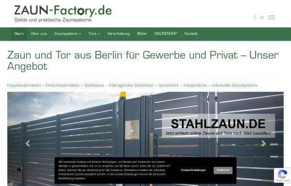 Vorschau von zaun-factory.de, ZAUN-Factory, Lucyna Galus