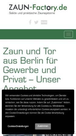 Zaun Factory Lucyna Galus In Berlin Zaune Und Tore Aussenanlagen