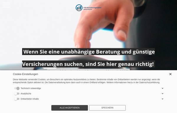Vorschau von www.vmb-online.com, VMB Versicherungsmakler Markus Böttcher