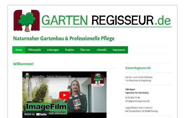 Vorschau von www.gartenregisseur.de, Garten Regisseur UG