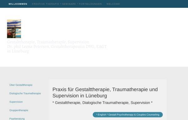 Vorschau von www.gestaltpraxis.net, Gestaltpraxis Dr. Leena Petersen