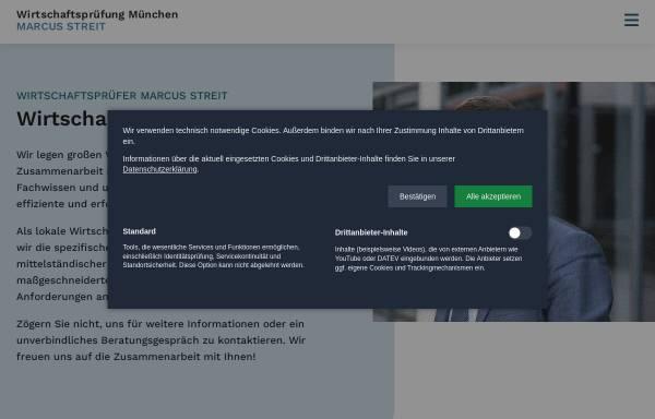 Vorschau von www.wirtschaftspruefung-muenchen.com, Marcus Streit, Wirtschaftsprüfer & Steuerberater