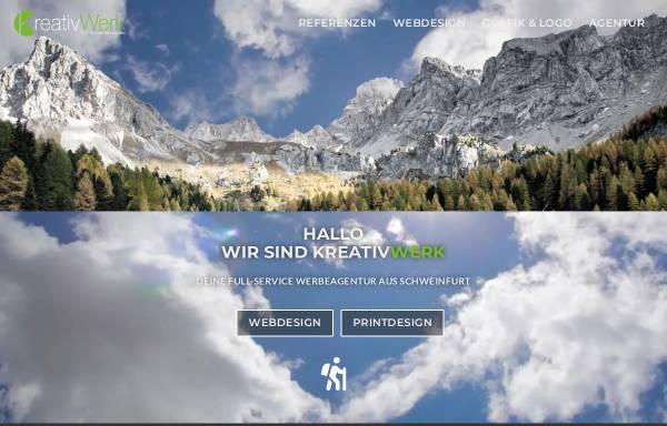 Vorschau von kreativwerk-sw.de, KreativWerk