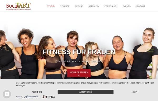 Vorschau von www.body-and-art.de, Body & ART - Gesundheitszentrum für Frauen und Kinder