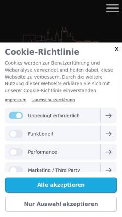 Vorschau der mobilen Webseite www.aaden-detektive.de, Aaden Wirtschaftsdetektei