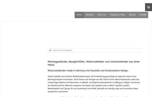 Vorschau von www.move-montagestaender.de, Move Montageständer