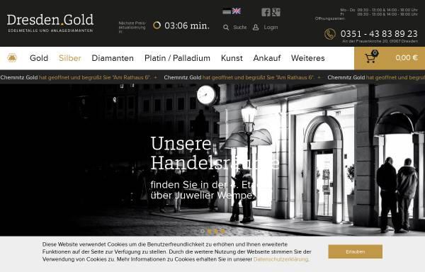 Vorschau von www.dresden.gold, Dresden.Gold GmbH