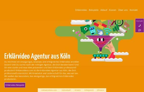 Vorschau von www.erklaervideos.com, Erklärvideo GmbH