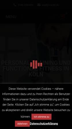 Vorschau der mobilen Webseite www.noch3.de, Noch3 - Functional Training Gym