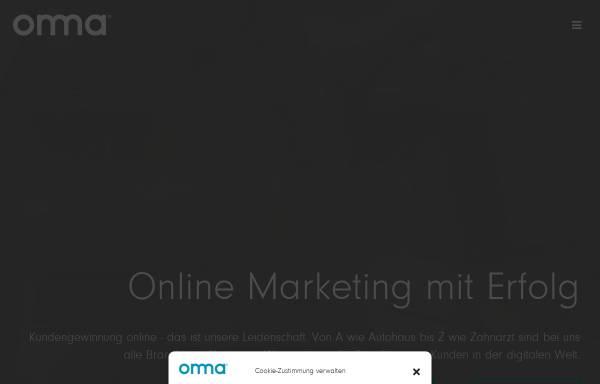 Vorschau von onma.de, ONMA Online Marketing GmbH