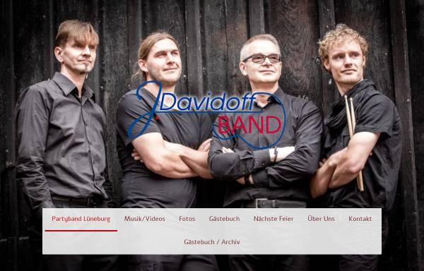 Vorschau von www.partyband-lueneburg.com, Davidoff Partyband und Tanzband