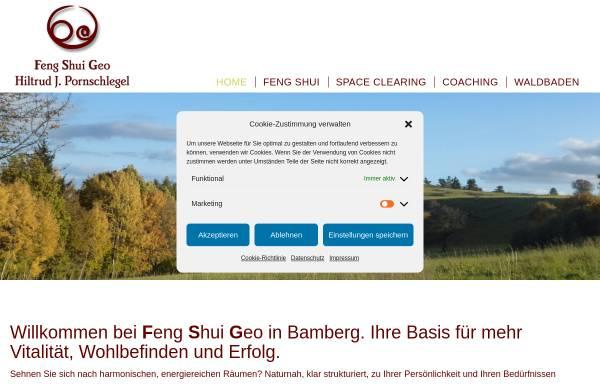 Vorschau von www.fengshui-geo.de, Hiltrud J. Pornschlegel