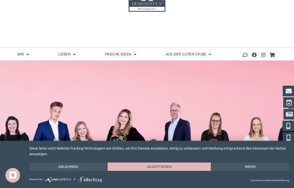 Vorschau von www.designstuuv.de, DESIGNSTUUV Werbeagentur | Aurich | Ostfriesland