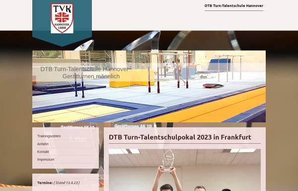 Vorschau von www.turnschule-hannover.de, NTB-Turnschule Hannover des Turnvereins Kleefeld von 1888 e.V.