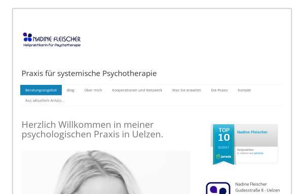 Vorschau von www.therapie-uelzen.de, Nadine Fleischer - Praxis für systemische Psychotherapie