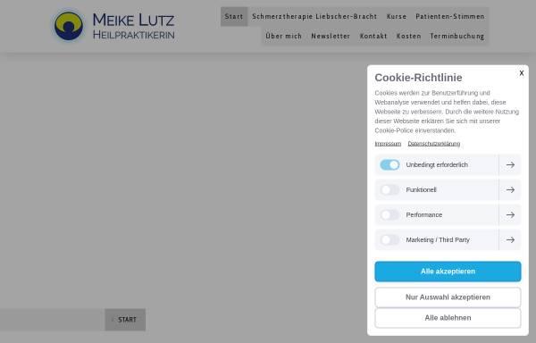 Vorschau von www.meikelutz.de, Heilpraktikerin Meike Lutz Pleidelsheim