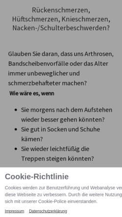 Vorschau der mobilen Webseite www.meikelutz.de, Heilpraktikerin Meike Lutz Pleidelsheim