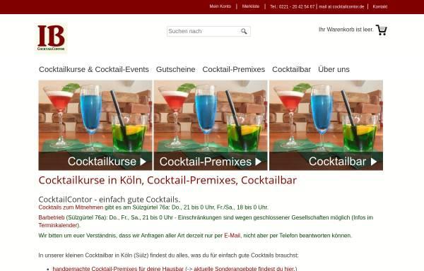 Vorschau von www.cocktailcontor.de, CocktailContor