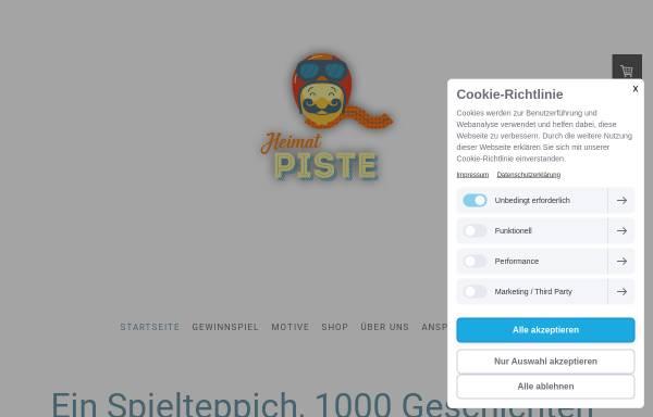 Vorschau von www.heimatpiste.de, Heimatpiste
