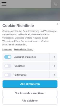 Vorschau der mobilen Webseite www.heimatpiste.de, Heimatpiste