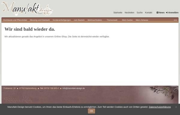 Vorschau von manufakt-design.de, Manufakt-Design