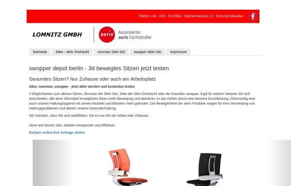 Vorschau von www.swopper-test.de, Lomnitz GmbH