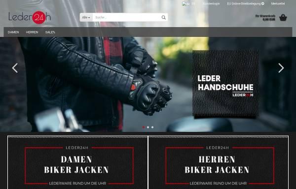 Vorschau von leder24h.de, Leder24h
