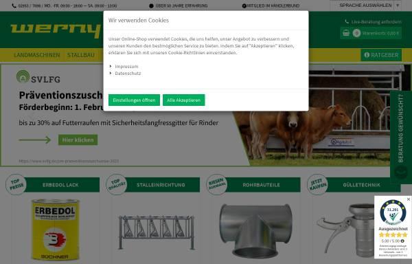 Vorschau von www.werny.de, Werny-Handel GmbH & Co. KG