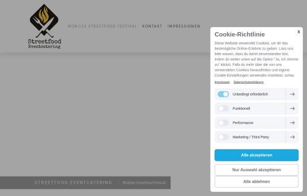 Vorschau von www.streetfood-eventcatering.de, Streetfood Eventcatering