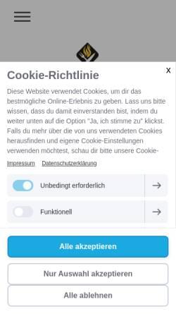 Vorschau der mobilen Webseite www.streetfood-eventcatering.de, Streetfood Eventcatering