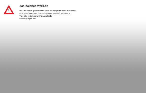 Vorschau von das-balance-werk.de, Das Balance-Werk