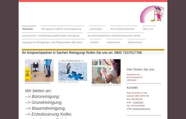 Vorschau von www.sauberhexe.com, sauberhexe.com, Inh. Natalja Shekow-Stengler