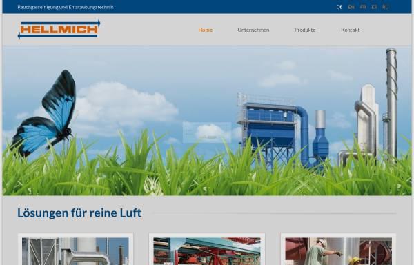 Vorschau von www.hellmich.com, Hellmich GmbH & Co. KG