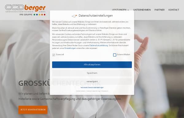 Vorschau von grosskuechencenter.de, Berger GmbH