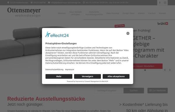 Vorschau von ottensmeyer-wohndesign.de, Ottensmeyer Wohndesign GmbH