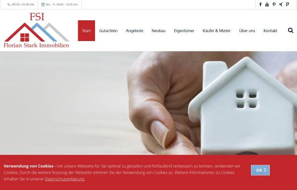 Vorschau von www.fs-immobilien.eu, FSI - Florian Stark Immobilien