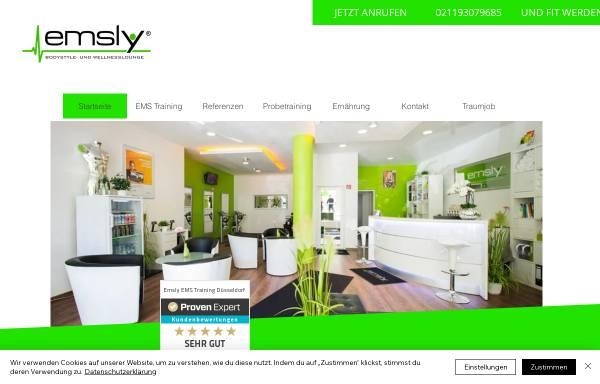 Vorschau von www.emsly.de, Emsly EMS Studio