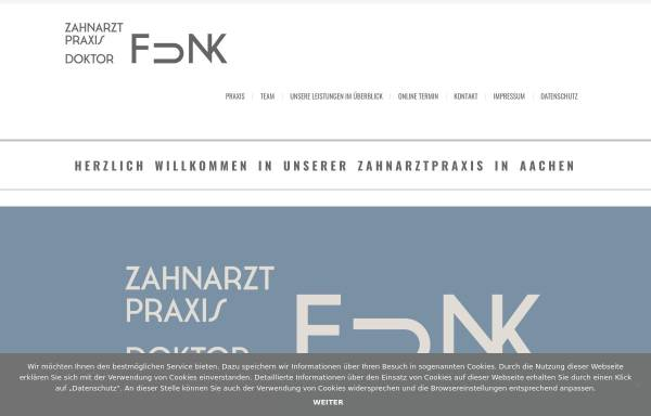 Vorschau von www.praxis-dr-funk.de, Zahnarztpraxis Doktor Funk