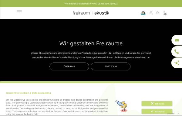 Vorschau von www.freiraumakustik.de, freiraum Akustik