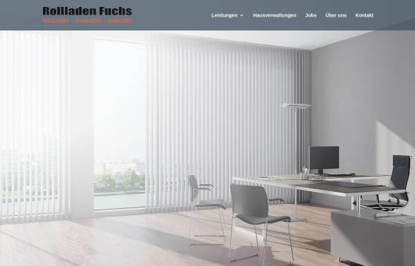 Vorschau von www.rollladen-fuchs.de, Rollladen Fuchs