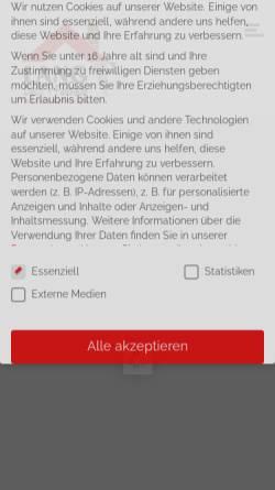 Vorschau der mobilen Webseite lang-dachundfassade.de, Lang - Dach + Fassade