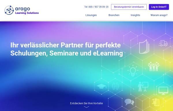 Vorschau von www.arago-consulting.de, arago Consulting GmbH