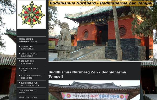 Vorschau von www.buddhismusnuernberg.de, Buddhismus Nürnberg