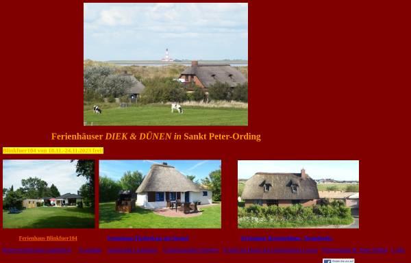 Vorschau von www.strandurlaub.net, Reetdachferienhaus Strandperle in St. Peter-Ording