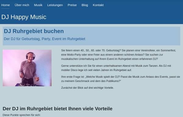 Vorschau von www.dj-happy-music.de, DJ Happy Music - Jürgen Knorre
