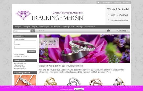 Vorschau von www.trauringe-mersin.de, Juwelier Mersin