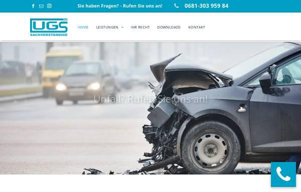 Vorschau von www.ugs-gutachten.de, UGS Sachverständige GmbH
